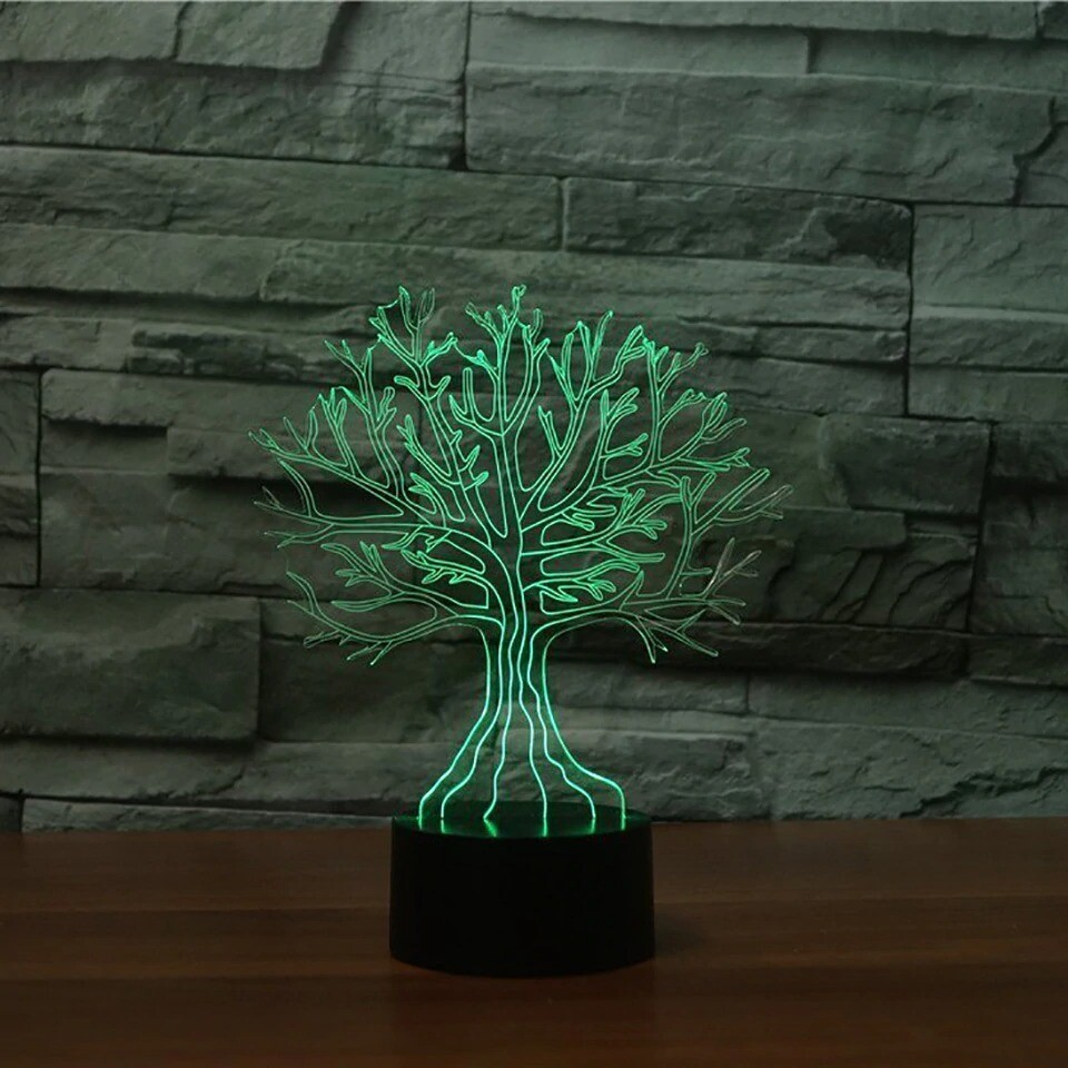 Tree Branches - 3D Night Light Table Lamp