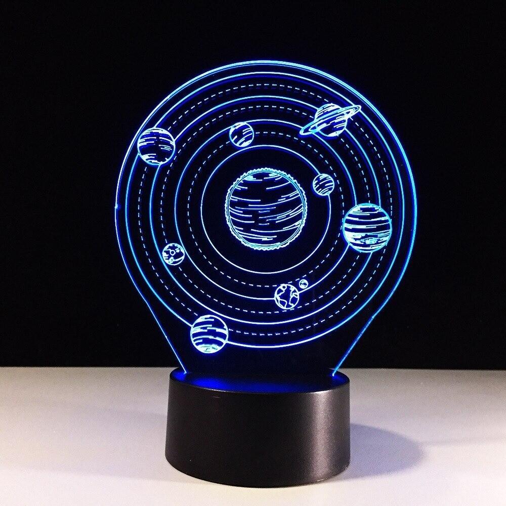 Universe Planet - 3D Night Light Table Lamp