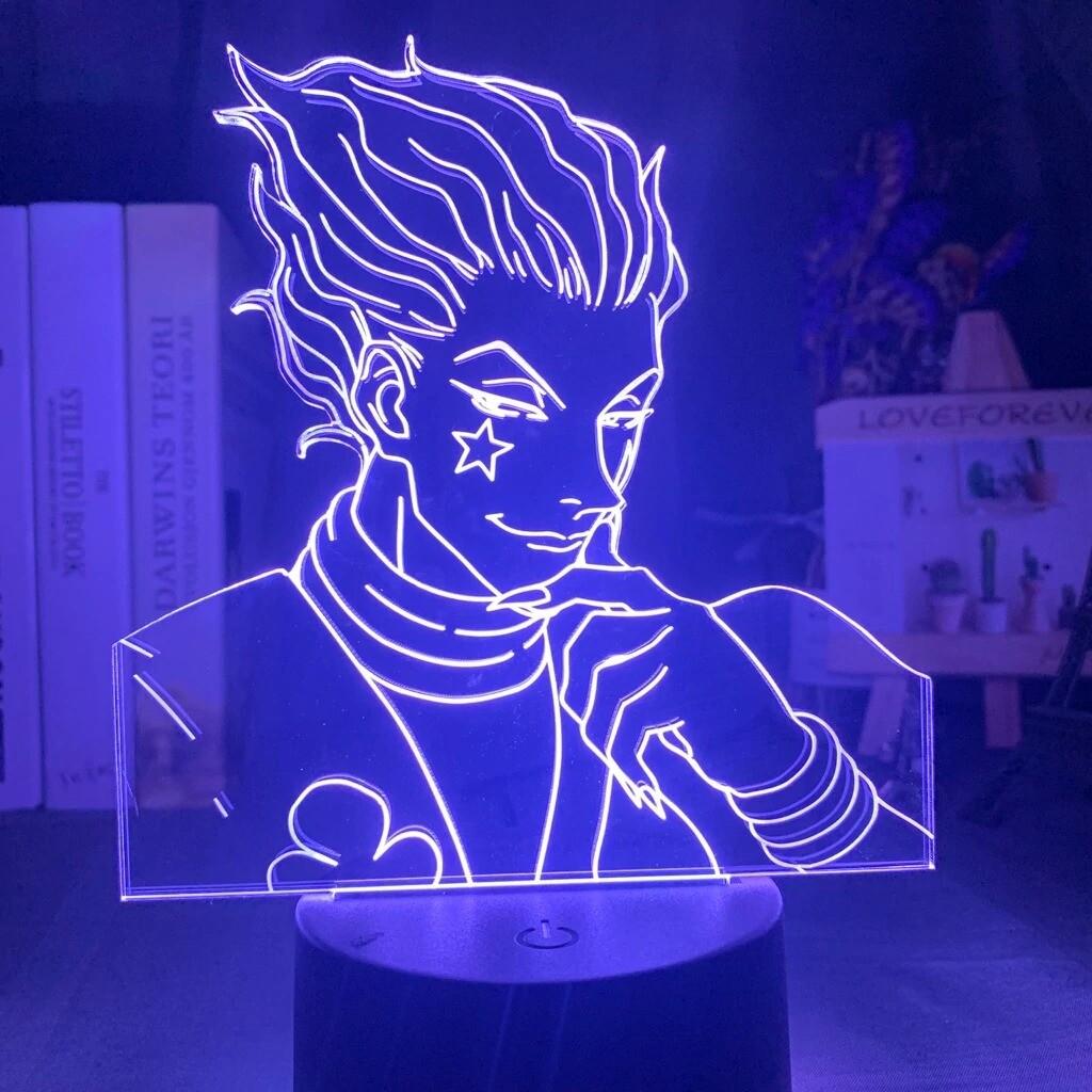 Anime Hunter X Hunter Hisoka Gadgets - 3D Night Light Table Lamp