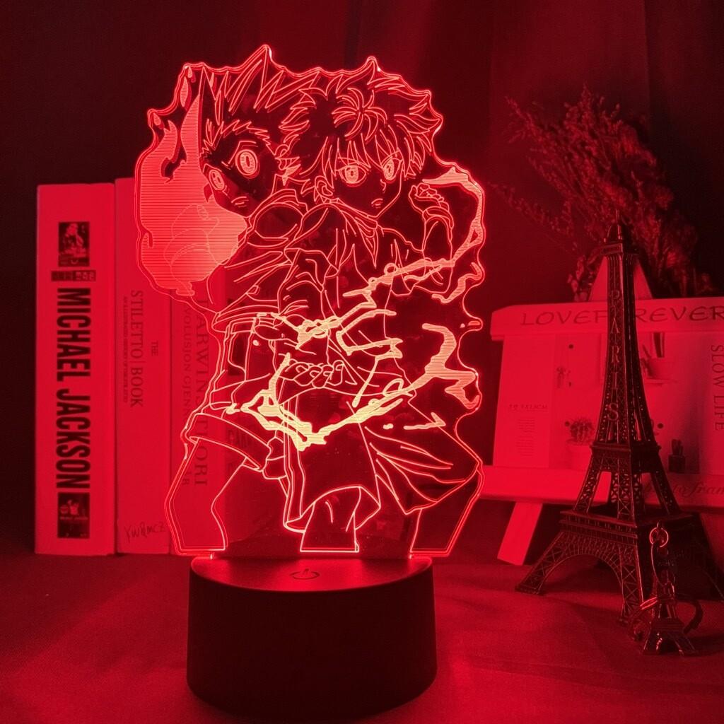 Gon and Killua Figure - 3D Night Light Table Lamp