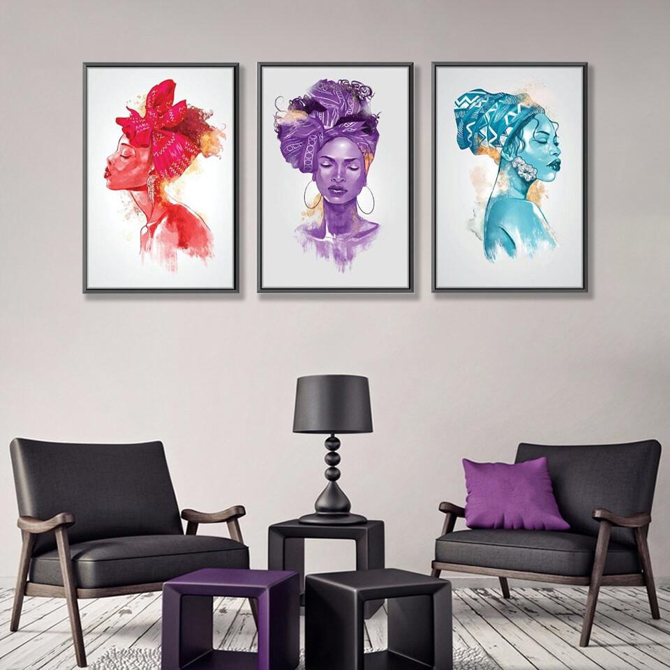 Hue Moods Canvas Wall Art