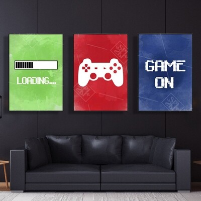 Funny Party Game Canvas Wall Art