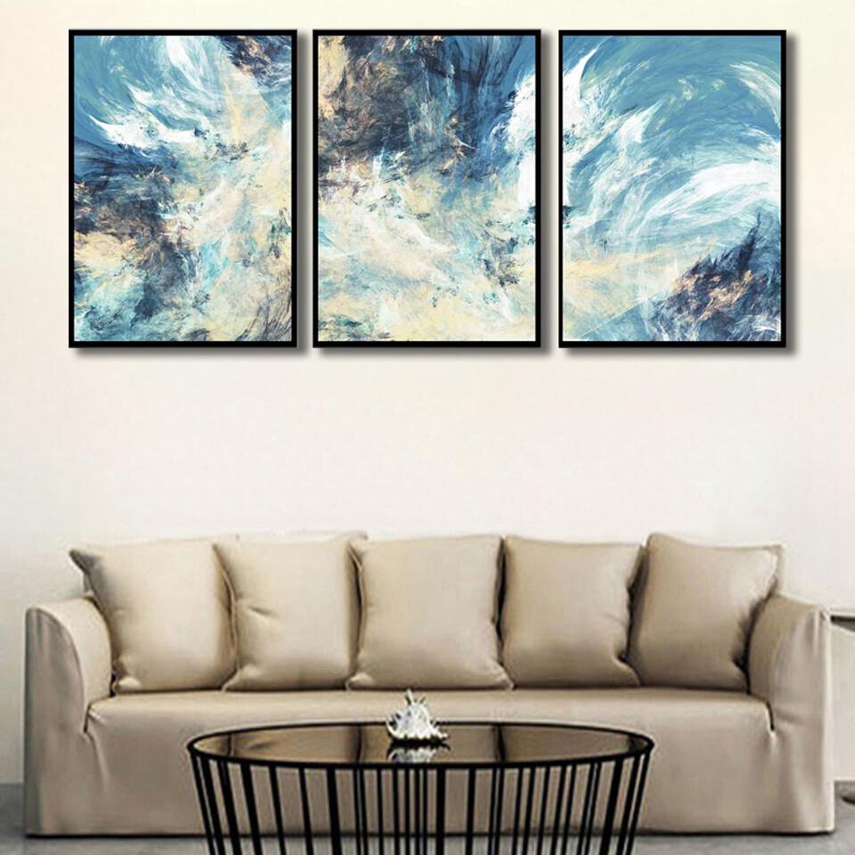 Abstract Skies Canvas Wall Art