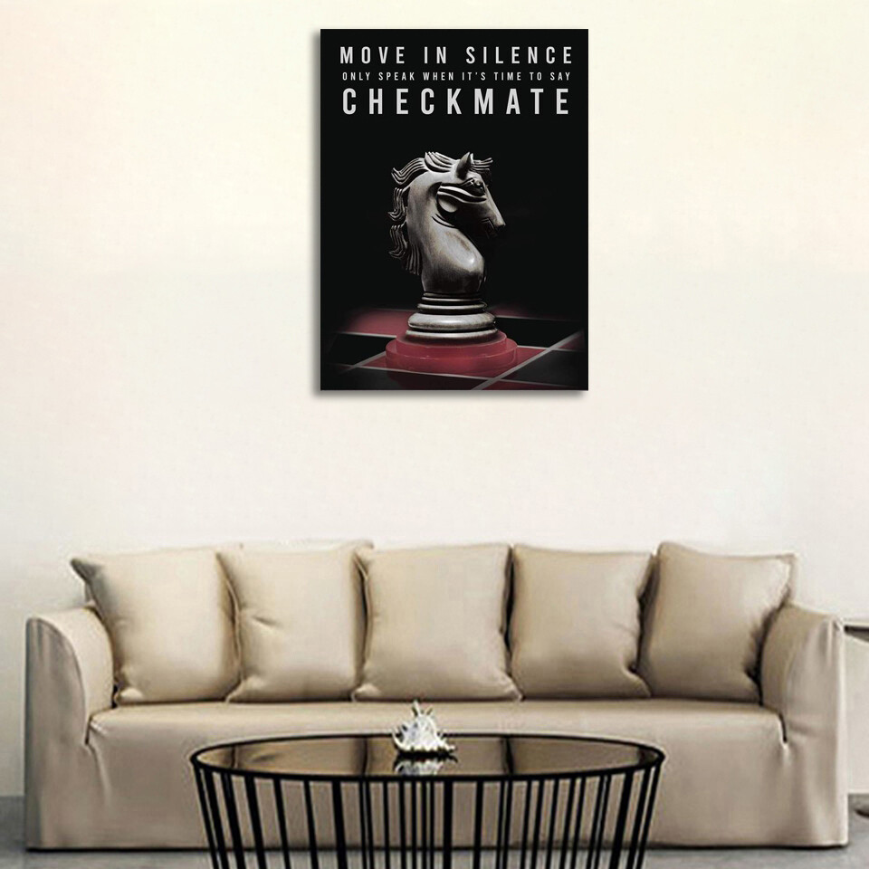 Checkmate Canvas Wall Art