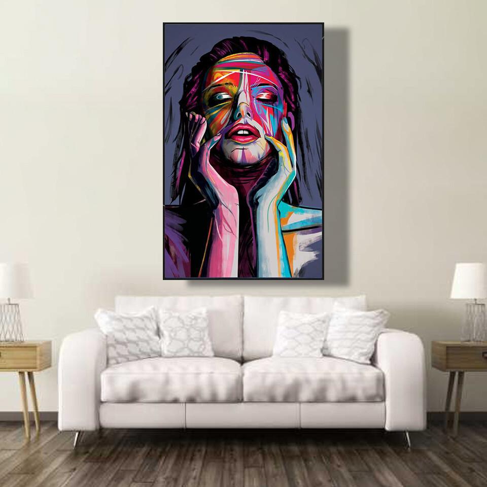 Awakened Woman Canvas Wall Art