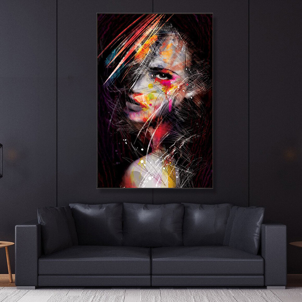 The Strong Minded Woman Canvas Wall Art