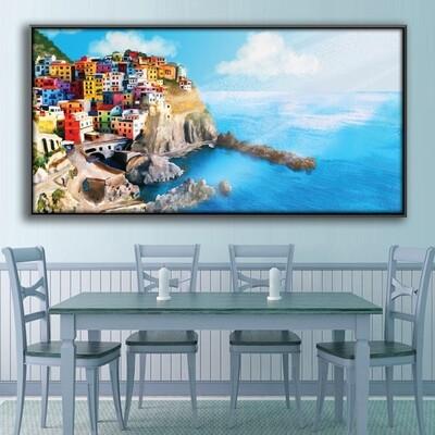 Cinque Terre Canvas Wall Art