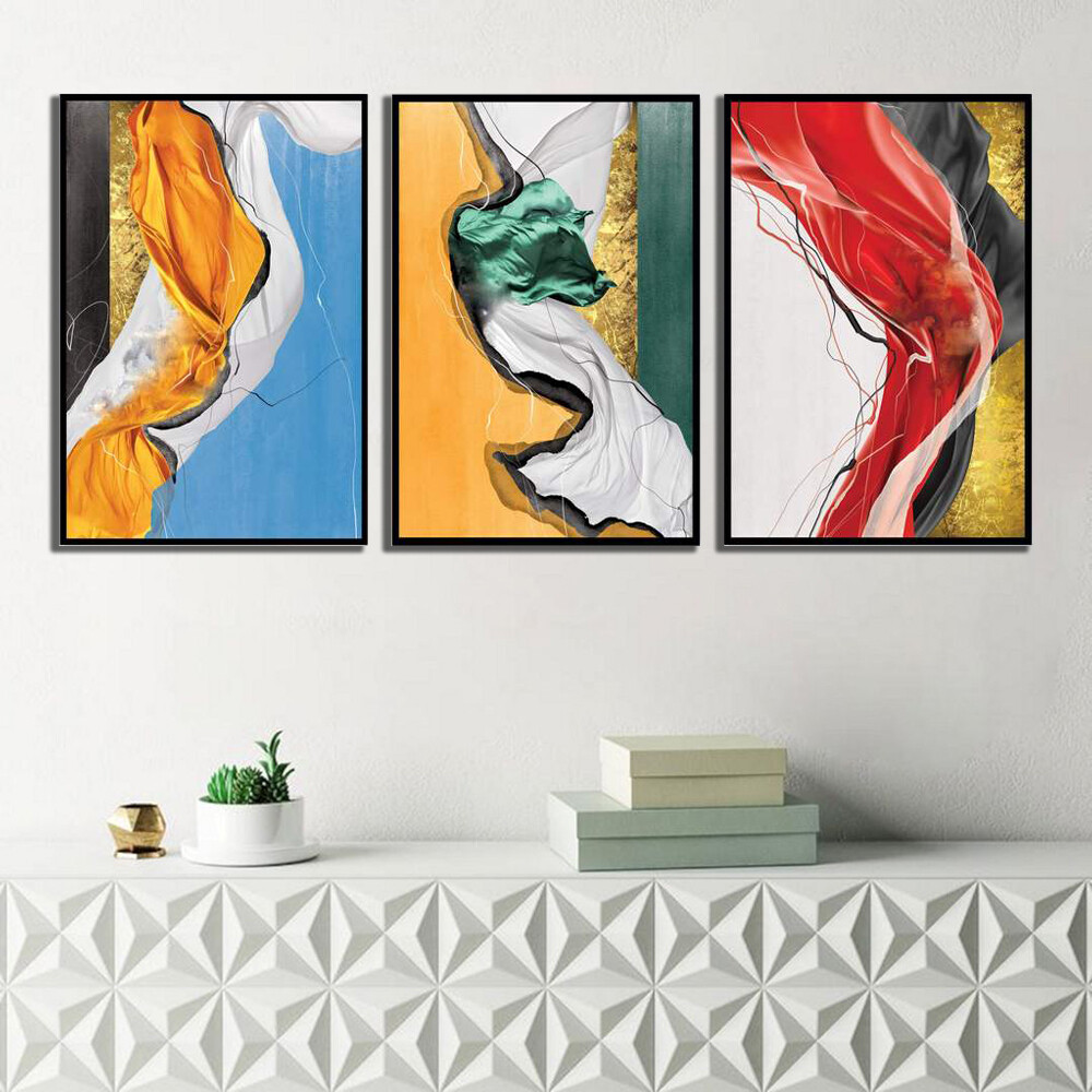 Color Wave Canvas Wall Art