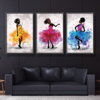 Dancing Queen Canvas Wall Art