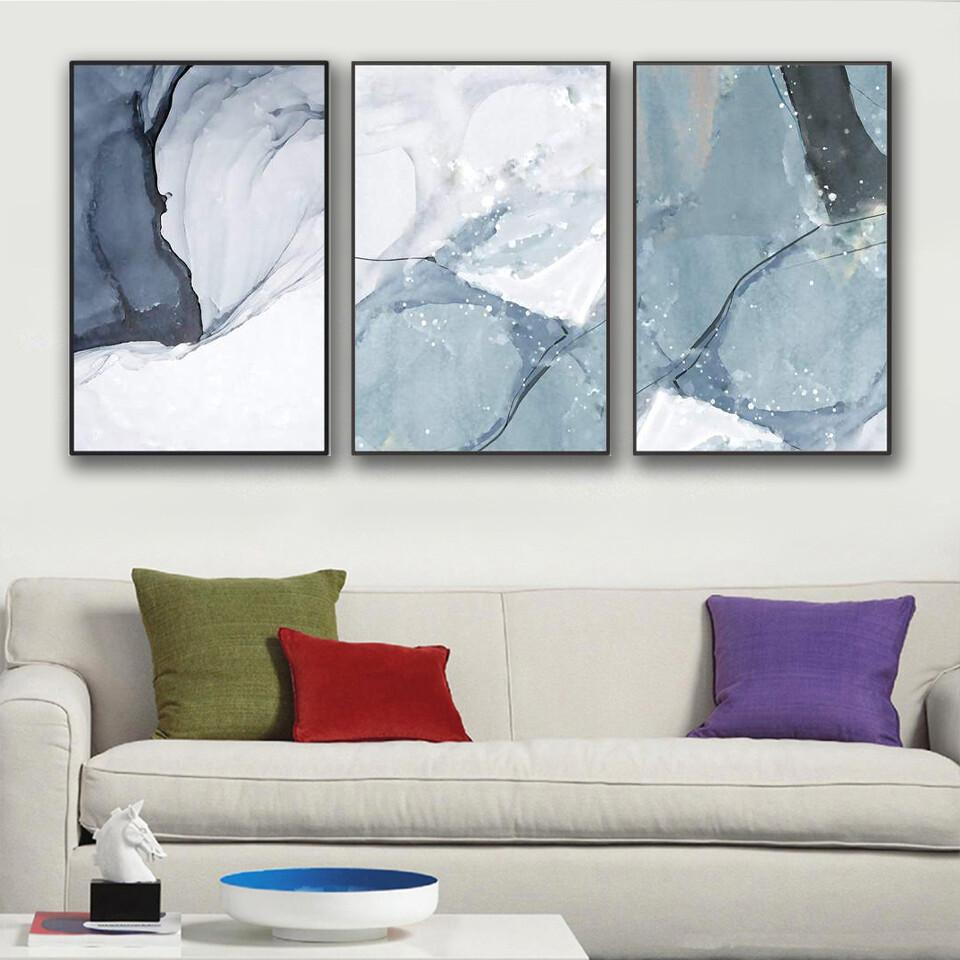 Glacier Canvas Wall Art