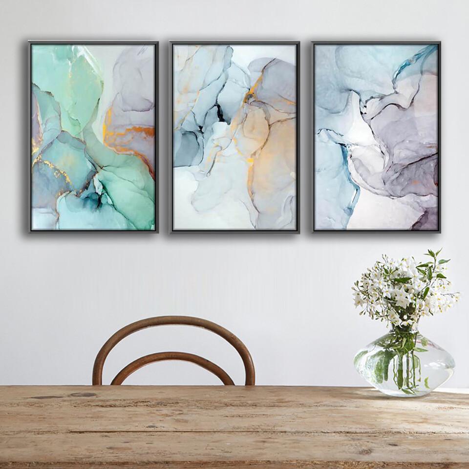 Soft Watercolor Canvas Wall Art