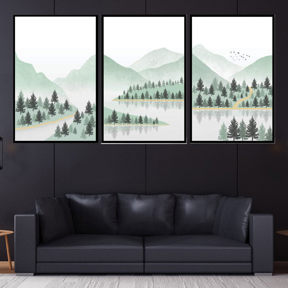 Summer Wilderness Canvas Wall Art