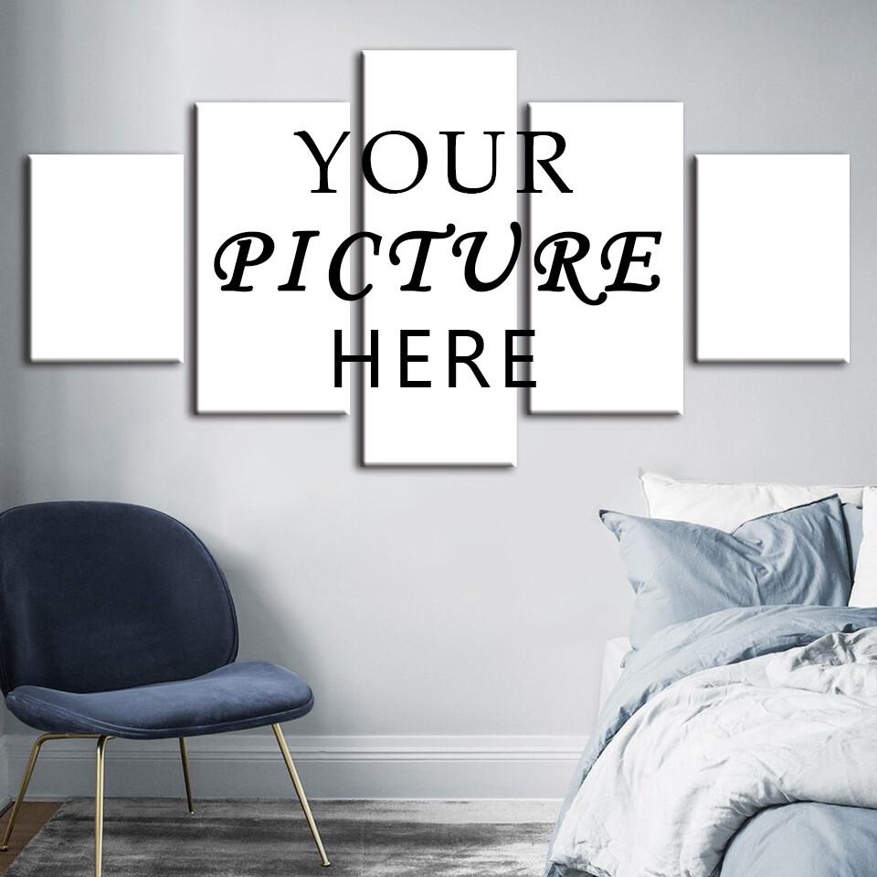 Custom Multi Panel Canvas Print Wall Art Set