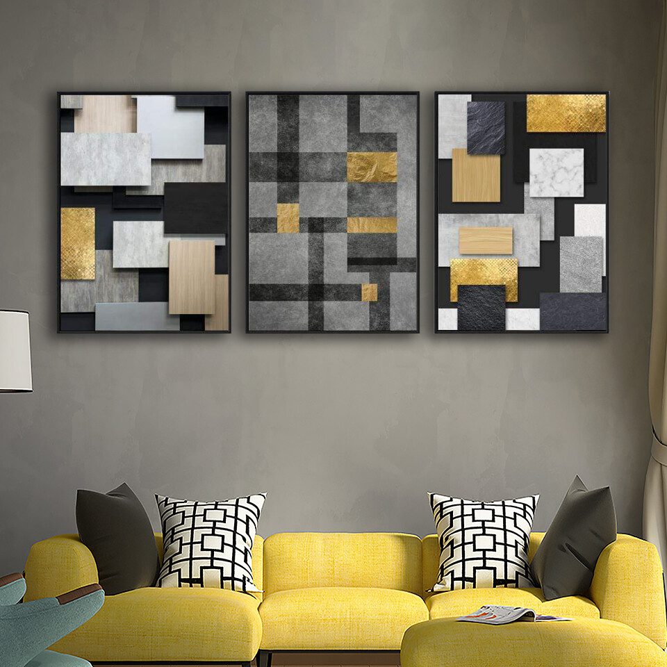 Square Space Canvas Wall Art