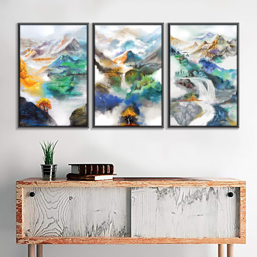 Sacred Valley Canvas Wall Art