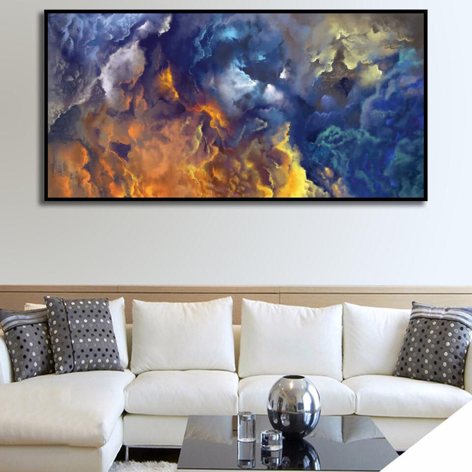 Blue Heaven Canvas Wall Art