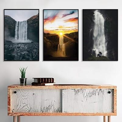 Magnificent Waterfalls Canvas Wall Art