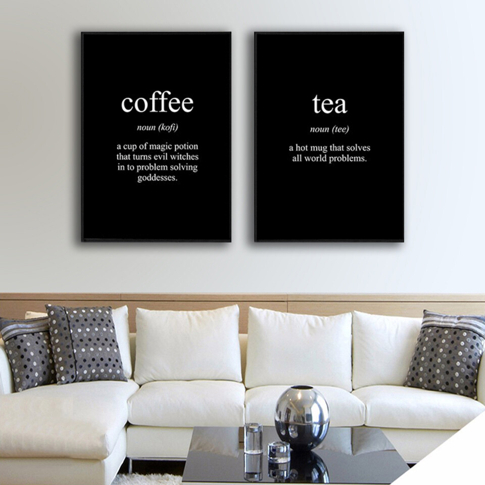 Coffee and Tea Canvas Canvas Wall Art
