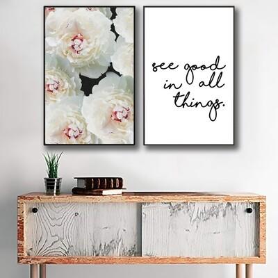 See Good Canvas Wall Art