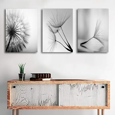 Dandelion Flower Canvas Wall Art