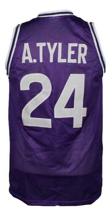 A.Tyler #24 HuskiesThe 6th Movie Basketball Jersey Sewn Purple