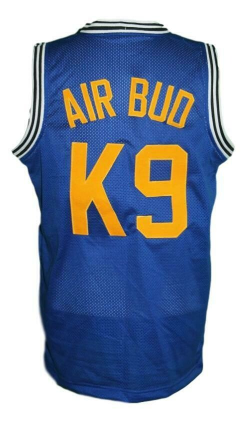 Air Bud K9 Timberwolves Basketball Jersey New Sewn Blue