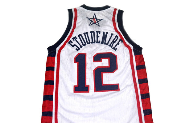 Amare Stoudemire #12 Team USA Basketball Jersey White