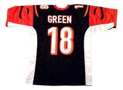 A.J.Green CUSTOM STITCHED Unsigned Football Jersey Black