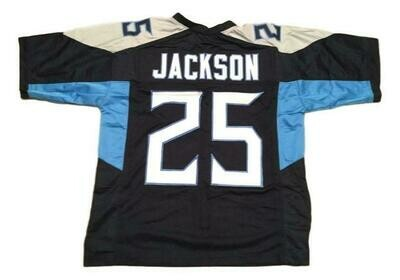 Adoree Jackson CUSTOM STITCHED Unsigned Football Jersey Blue