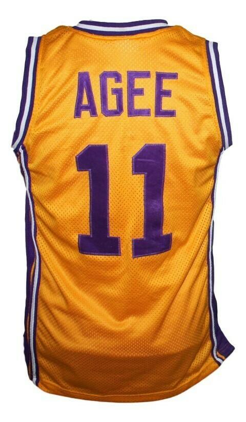 Arthur Agee Hoop Dreams Movie Basketball Jersey New Sewn Yellow