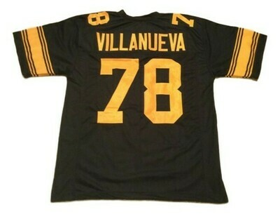 Alejandro Villanueva CUSTOM STITCHED Unsigned Football Jersey Black