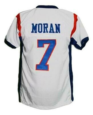 Alex Moran #7 BMS Blue Mountain State Football Jersey White