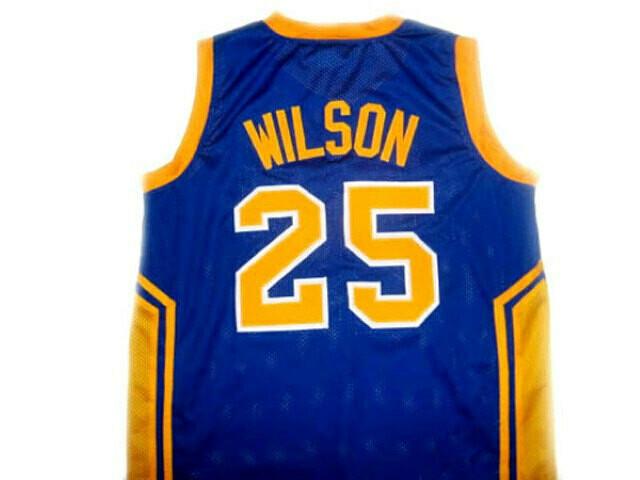 Ben Wilson #25 Simeon High School Basketball Jersey Blue