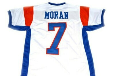 Alex Moran #7 Blue Mountain State Football Jersey White