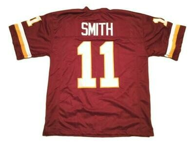 Alex Smith CUSTOM STITCHED Unsigned Football Jersey Maroon