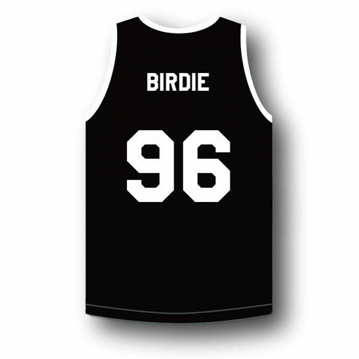 Birdie #96 Above The Rim Tournament Shoot Out Basketball Jersey Black