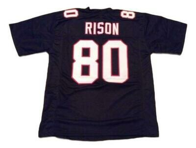 Andre Rison CUSTOM STITCHED Unsigned Football Jersey Black