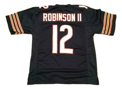 Allen Robinson CUSTOM STITCHED Unsigned Football Jersey Blue