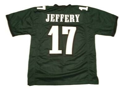 Alshon Jeffery CUSTOM STITCHED Unsigned Football Jersey Green