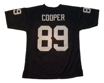 Amari Cooper CUSTOM STITCHED Unsigned Football Jersey Black