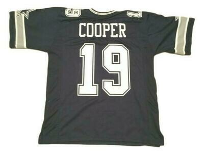 Amari Cooper CUSTOM STITCHED Unsigned Football Jersey Blue