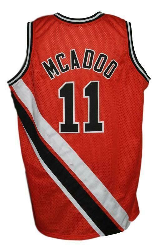 Bob McAdoo #11 Buffalo Braves Retro Basketball Jersey New Sewn Orange