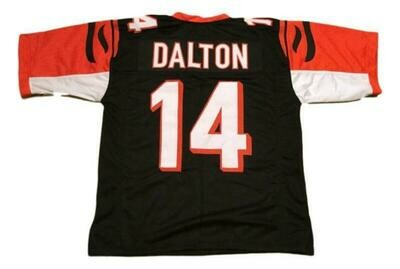 Andy Dalton CUSTOM STITCHED Unsigned Football Jersey Black