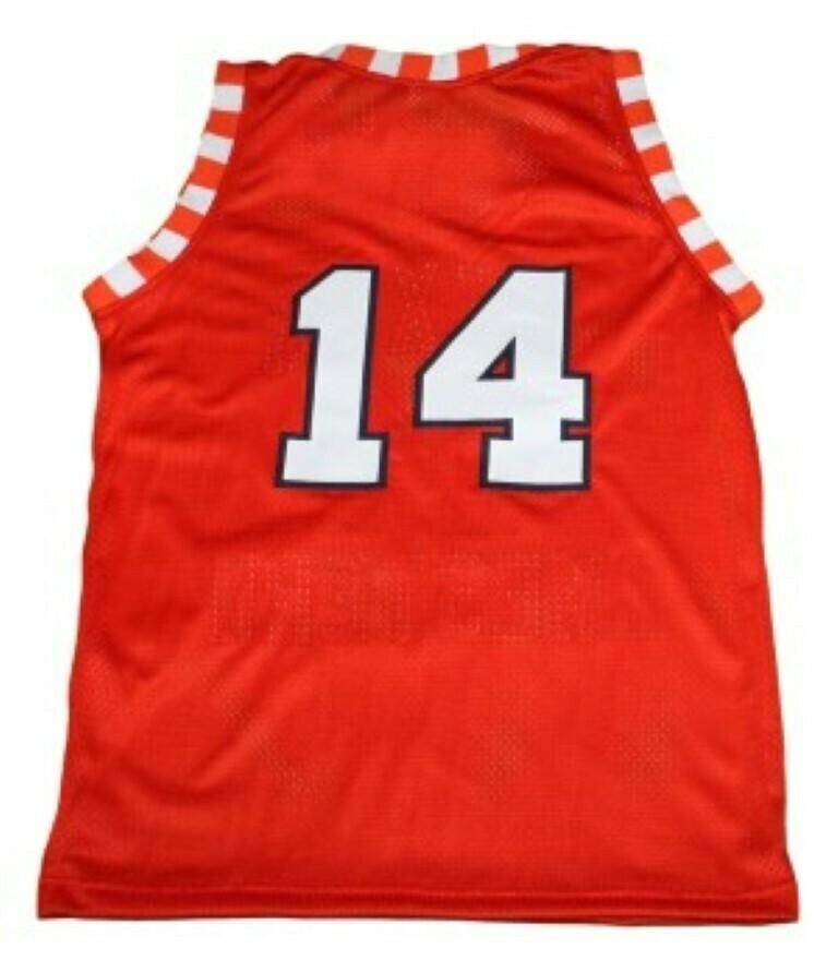 Bobby Joe Hill #14 Texas Western New Basketball Jersey Orange