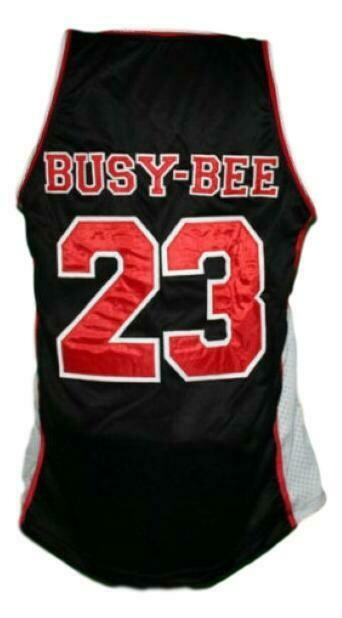 Busy-Bee #23 Sunset Park Movie Basketball Jersey New Sewn Black