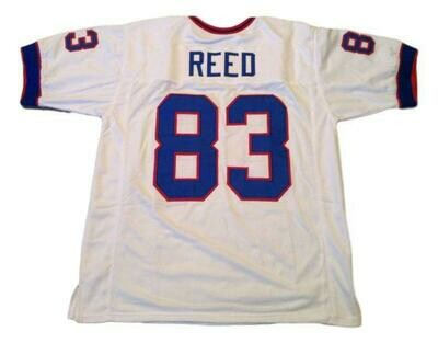 Andre Reed CUSTOM STITCHED Unsigned Football Jersey White