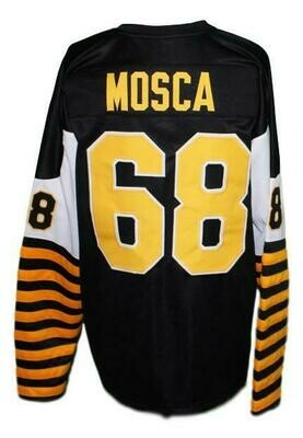 Angelo Mosca #68 Hamilton Tiger Cats Football Jersey Black