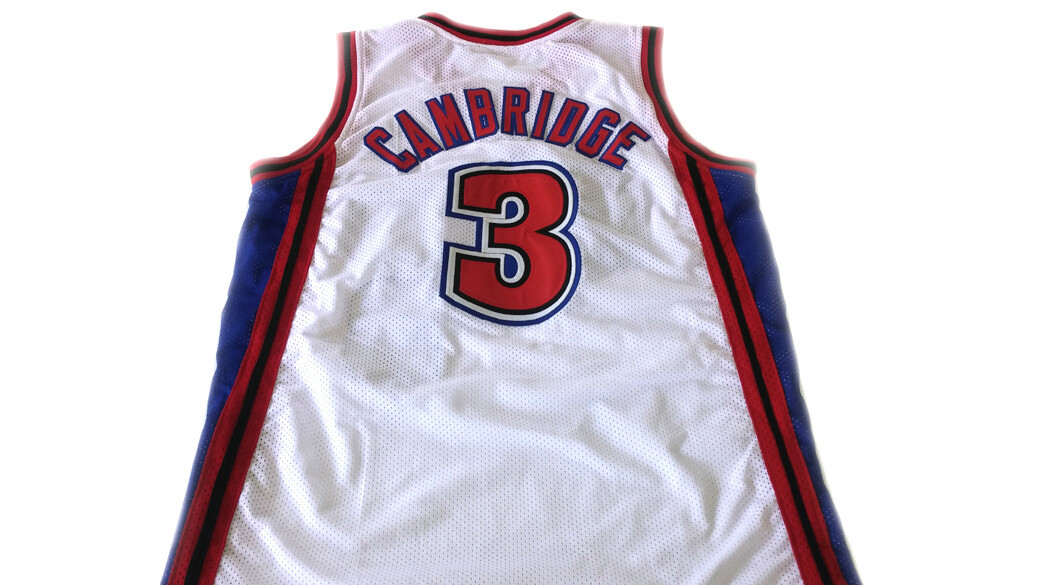 Calvin Cambridge #3 Los Angeles Knights Basketball Jersey New White