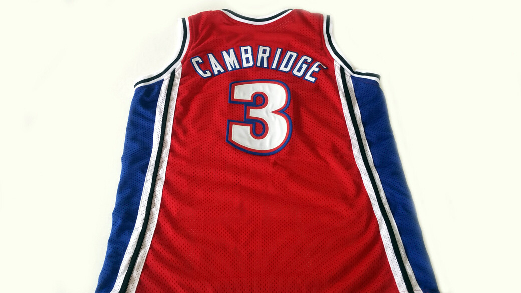 Calvin Cambridge #3 Los Angeles Knights New Basketball Jersey Red