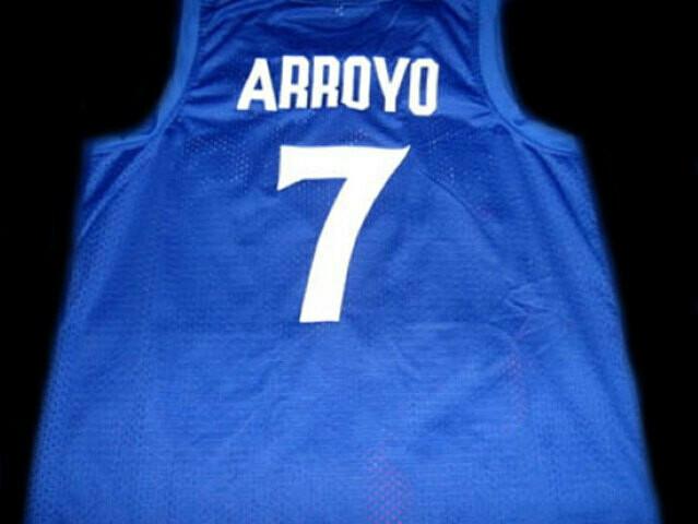 Carlos Arroyo #7 Puerto Rico Basketball Jersey Blue